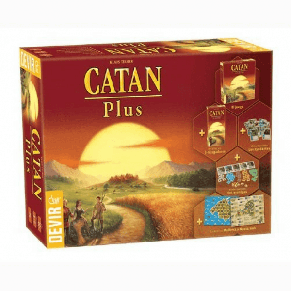 comprar Catan plus