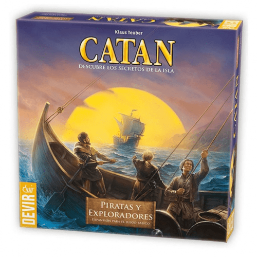 comprar Colonos de Catan Piratas y exploradores