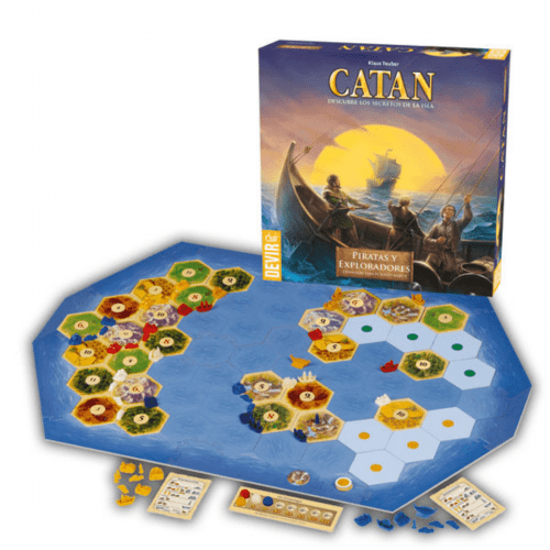 Colonos de Catan Piratas y exploradores