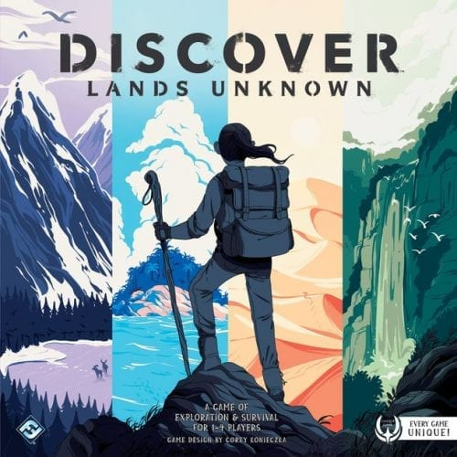 comprar discover lands unknown
