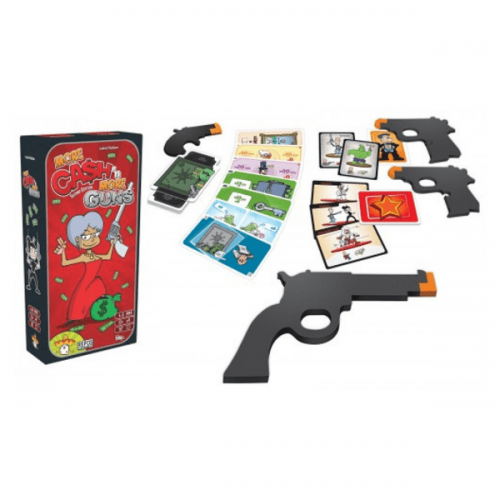 More cash and more guns expansion