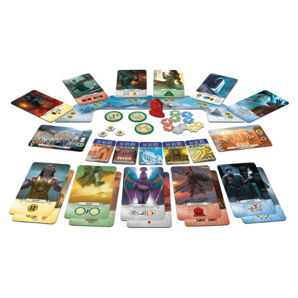 7 wonders pantheon expansion dos jugadores