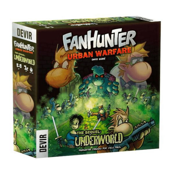fanhunter urban warfare underworld