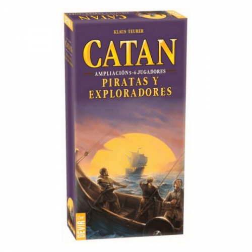catan expansion piratas y exploradores 5 y 6 jugadores