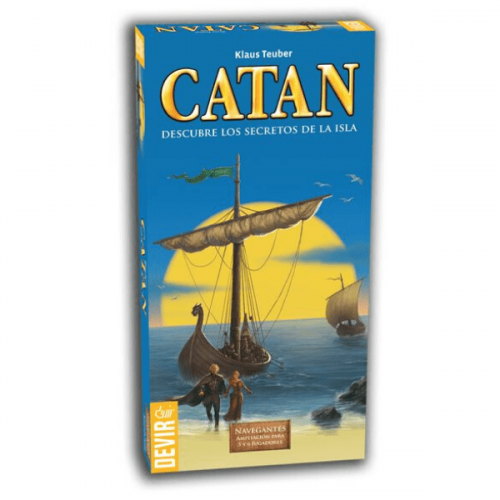 catan expansion navegantes 5 y 6 jugadores