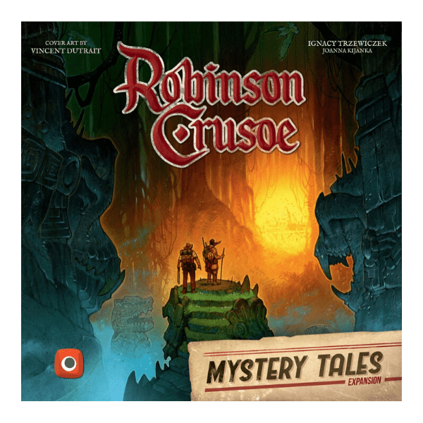 comprar robinson crusoe expansion mystery tales
