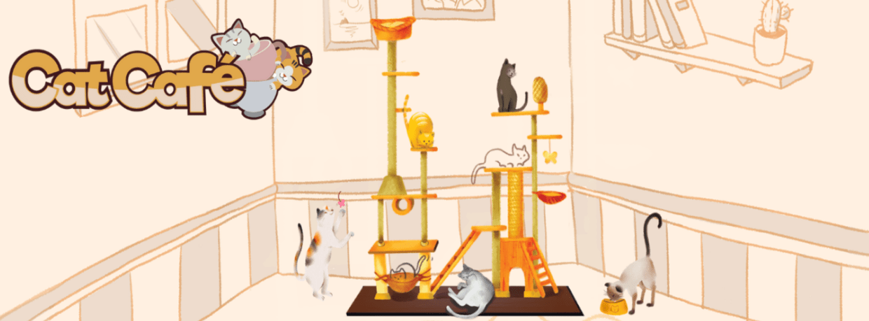 cat cafe juego cacahuete games
